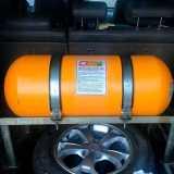 cilindro gnv fibra de carbono Parque Ouro Fino